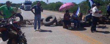 Estrada Bioceânica é fechada por manifestantes na Bolívia