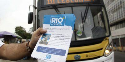 Rio: Tijuca terá fiscalização em ônibus para conferir funcionamento de acesso a pessoas com deficiência