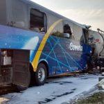 Acidente com ônibus da Viação Cometa deixa 13 feridos na Rodovia Anhanguera