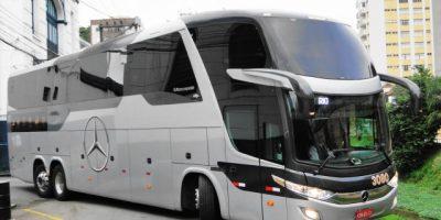 Rio: Unica faz testes com ônibus rodoviário Low Driver e chama atenção de passageiros e turistas