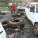 PI: Manifestação fecha rodovia PI-113 em José de Freitas