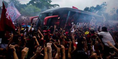 AO VIVO: AeroFla movimenta o Rio de Janeiro. Ônibus segue para o aeroporto do Galeão