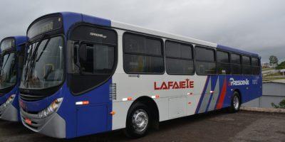 MG: Viação Presidente Lafaiete apresenta dez ônibus recém adquiridos de São Paulo