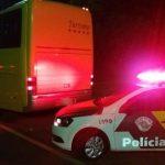 Polícia prende ônibus pirata com produtos sem notas no interior de São Paulo