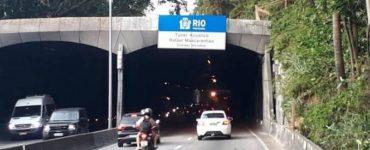 Rio: Túnel Acústico será interditado para obras. Confira o esquema de trânsito