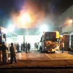 Botucatu: Fábrica da Caio pega fogo na noite desta segunda-feira 18